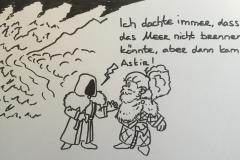 """""""Assssskiiiiirrr, füttere mich mit Holz!"""""""