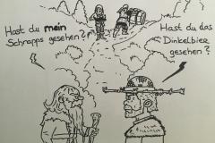 Wen Ingibjörg und Eilif sprechen